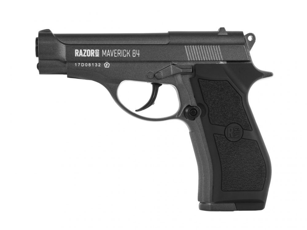 Wiatrówka pistolet RazorGun Maverick 84 Black 4,46mm (WC4-301B-KO)