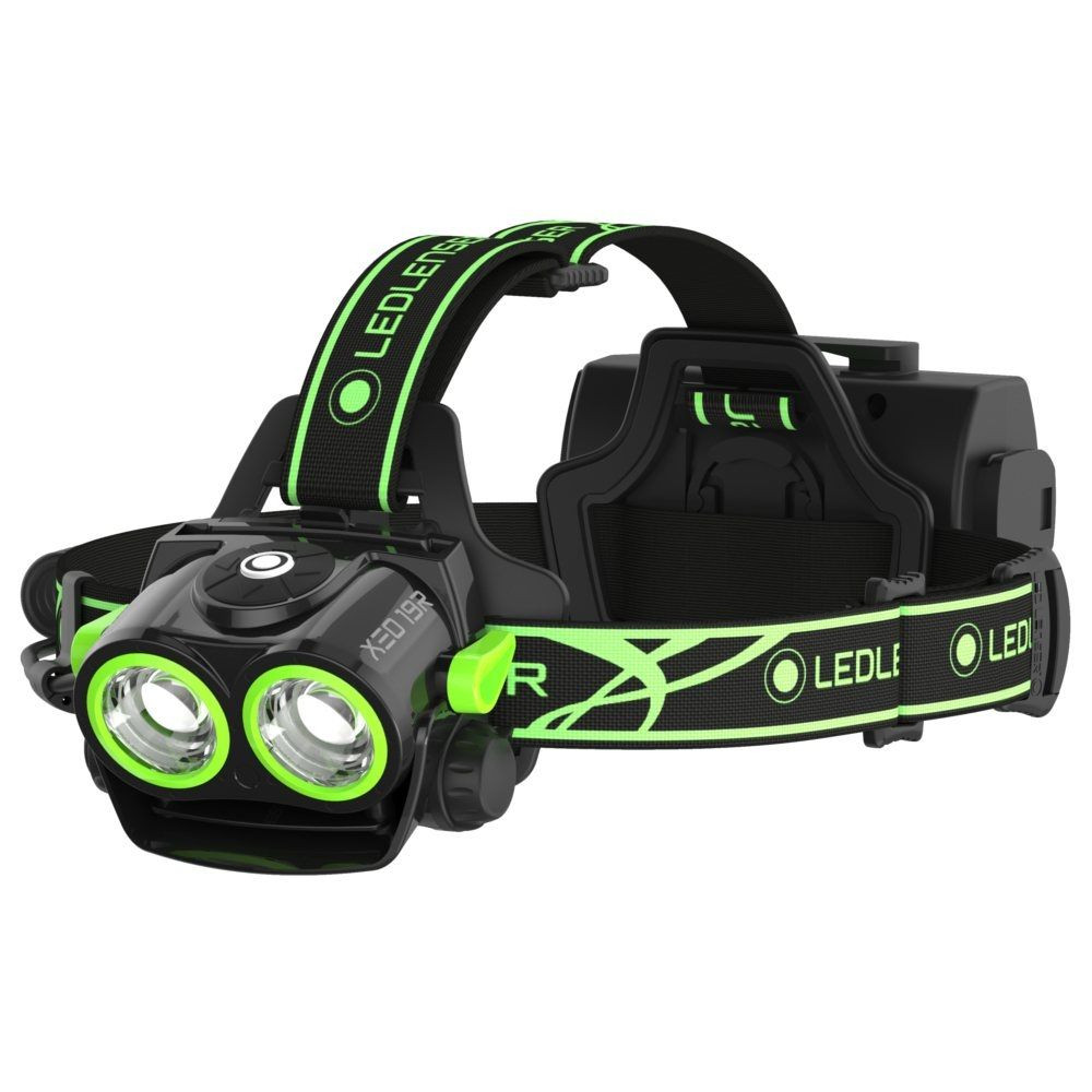 Latarka Ledlenser XEO19R Black&Green