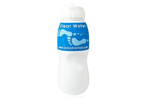 Butelka na wodę z filtrem BCB Adventure Water Filtration Bottle - biała