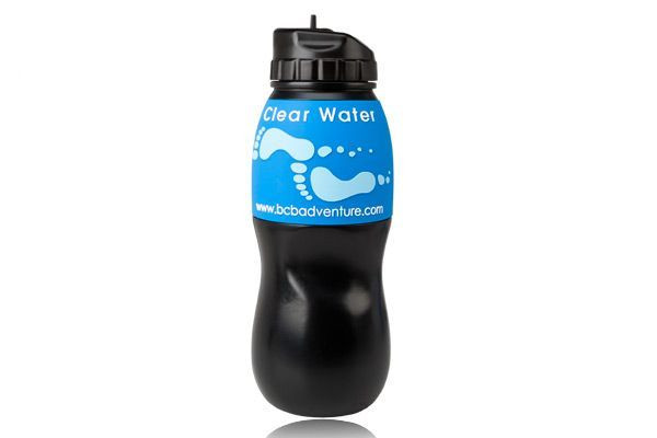 Butelka na wodę z filtrem BCB Adventure Water Filtration Bottle - czarna