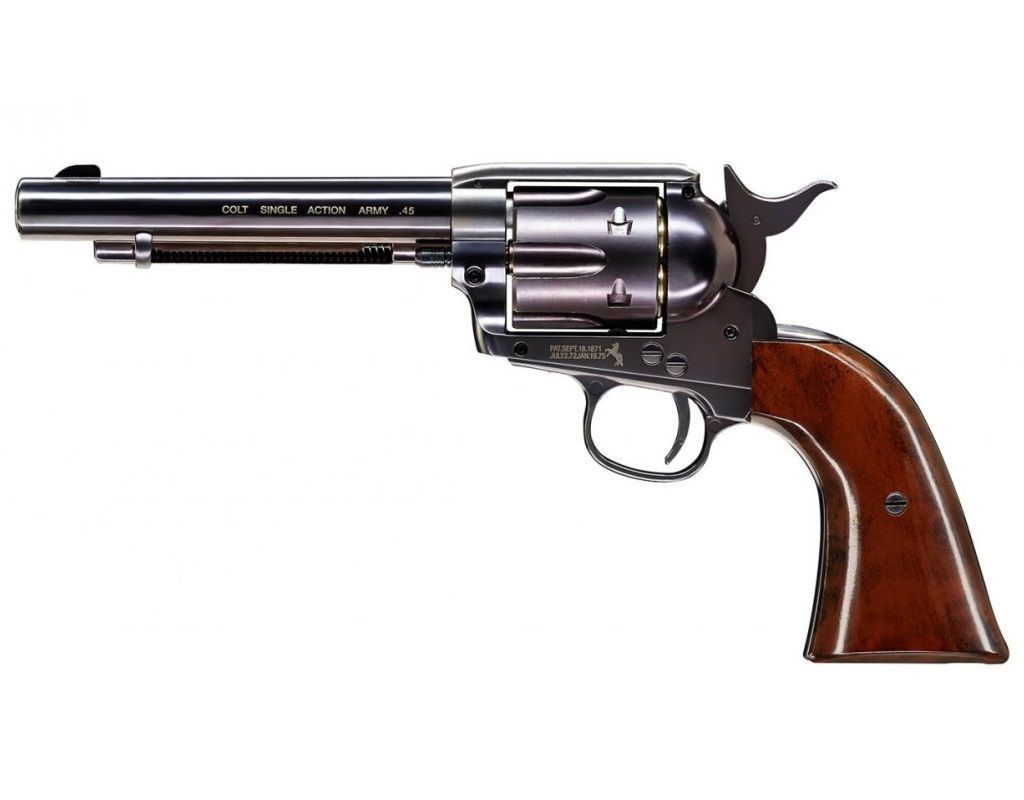 "Wiatrówka rewolwer Colt Single Action Army 45 Peacemaker Blued 5,5"" 4,46 mm (5.8308)"