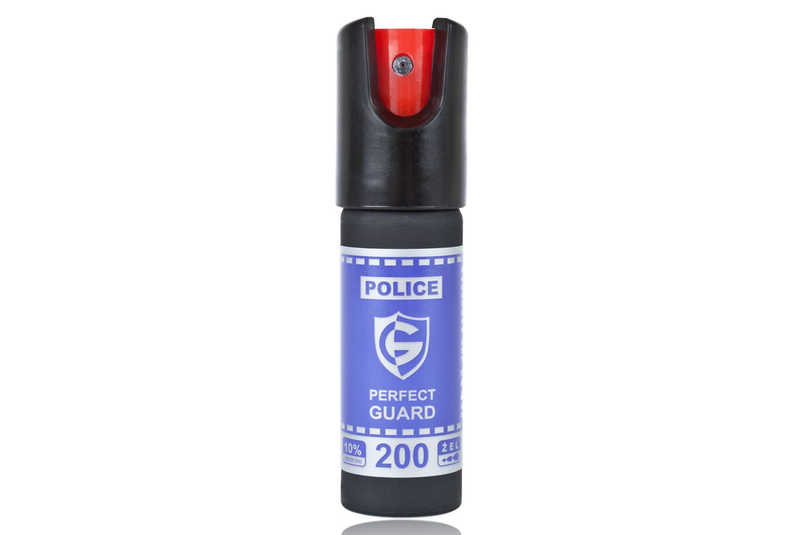 Gaz pieprzowy Police Perfect Guard 200 - 20 ml. żel (PG.200)