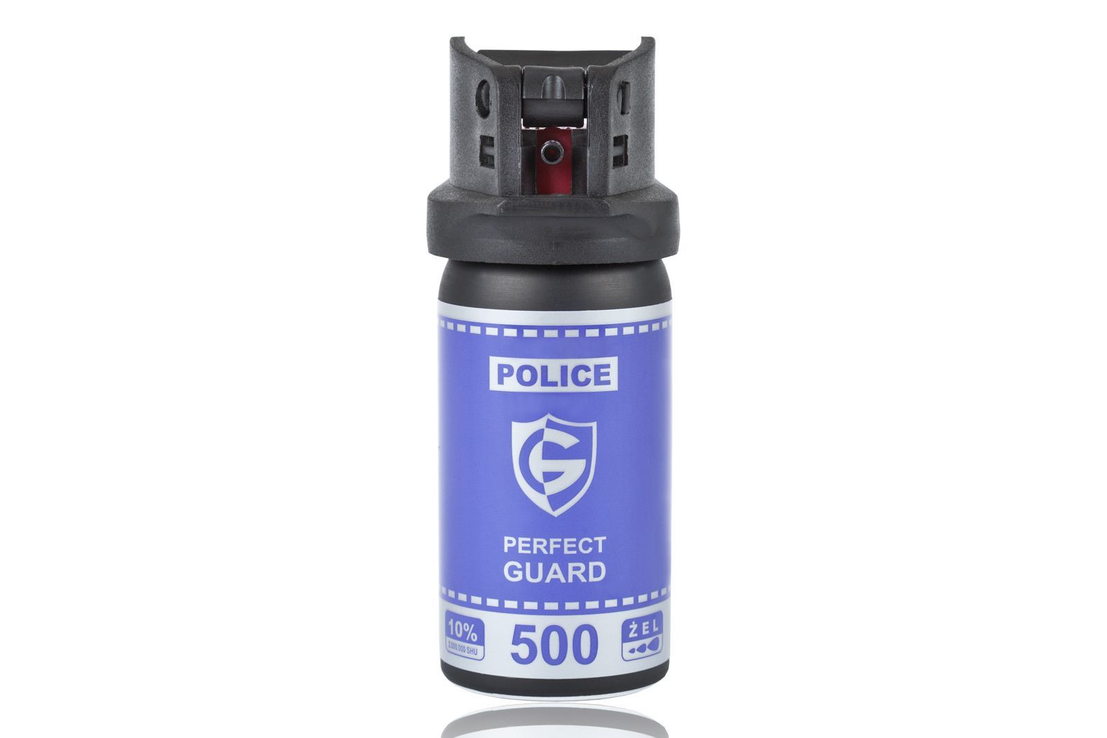 Gaz pieprzowy Police Perfect Guard 500 - 50 ml. żel (PG.500)