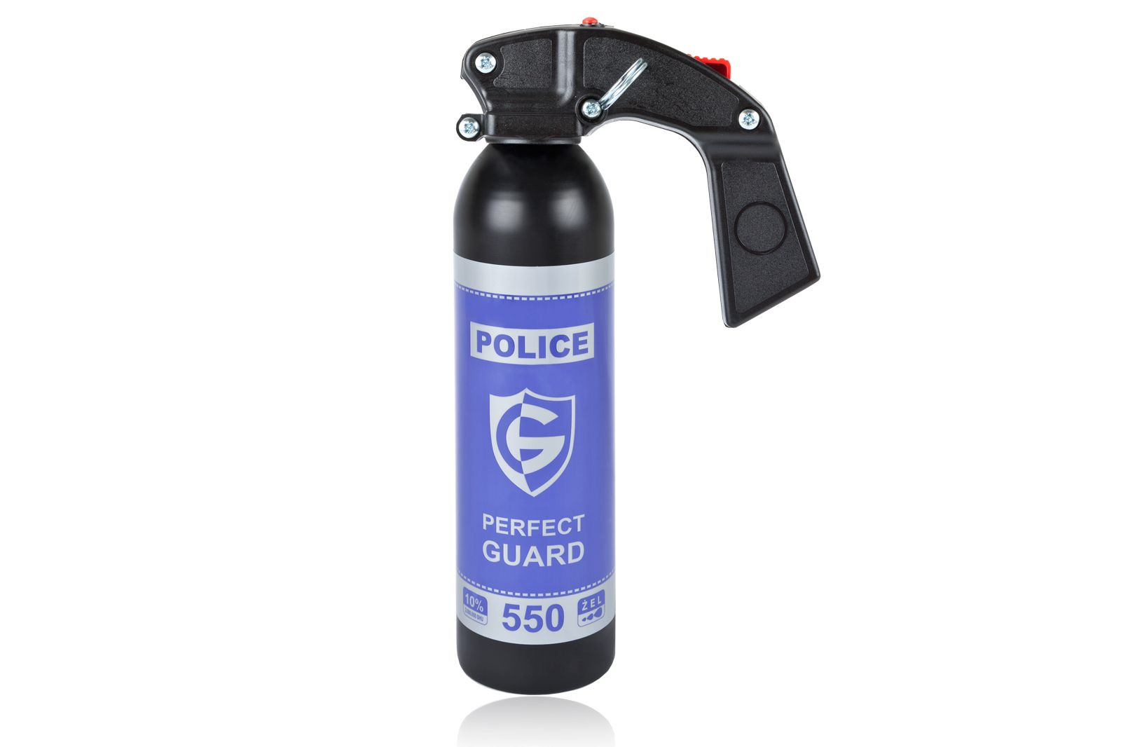 Gaz pieprzowy Police Perfect Guard 550 - 550 ml. żel - gaśnica (PG.550)