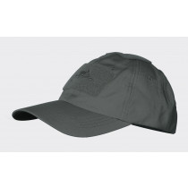 Czapka Baseball - PolyCotton Ripstop - Shadow Grey
