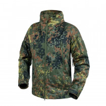 Kurtka GUNFIGHTER - Shark Skin Windblocker - Flecktarn (KU-GUN-FM-23)