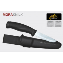 Nóż Morakniv Companion Black Stainless Steel Czarny (NZ-CBL-SS-01)