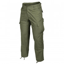 Spodnie CPU® - PolyCotton Ripstop - Olive Green (SP-CPU-PR-02)