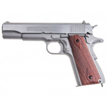 Wiatrówka pistolet Swiss Arms SA1911 Blow Back (288509) 4,46mm - metal CyberGun
